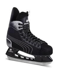 хоккейные коньки чёрного цвета