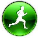 иконка с бегущим человеком